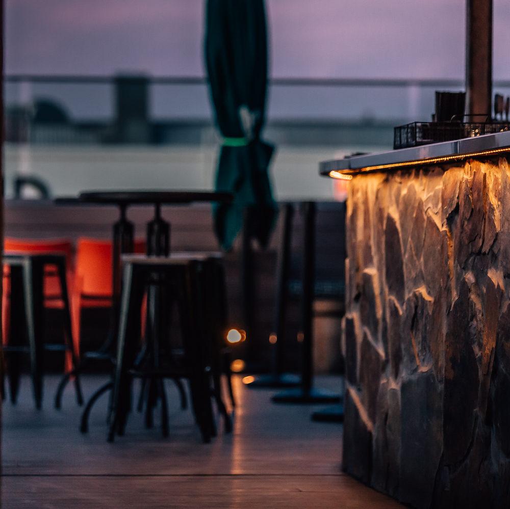sunset bar view